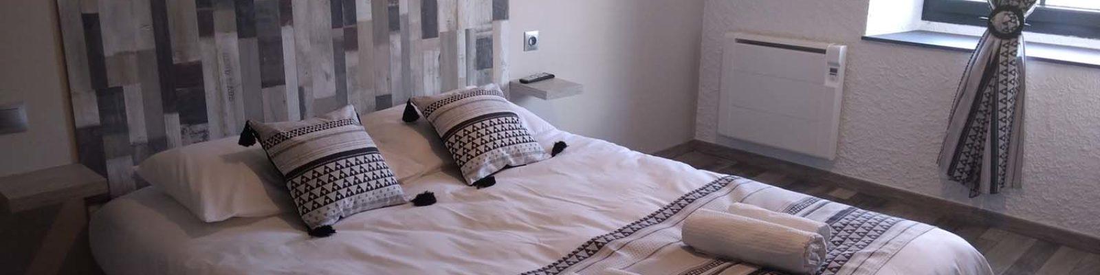 chambre hôtel 2 personnes Ardèche