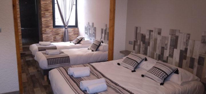 chambre 4 personnes Ardèche